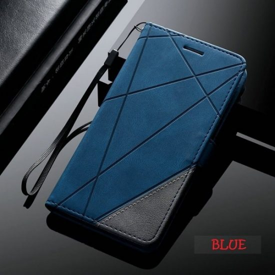 Leather Wallet Case for Samsung S21 Plus