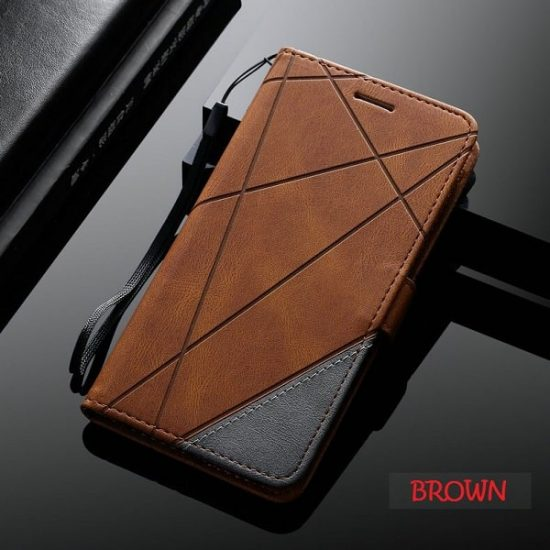 Leather Wallet Case for Samsung S21 Ultra