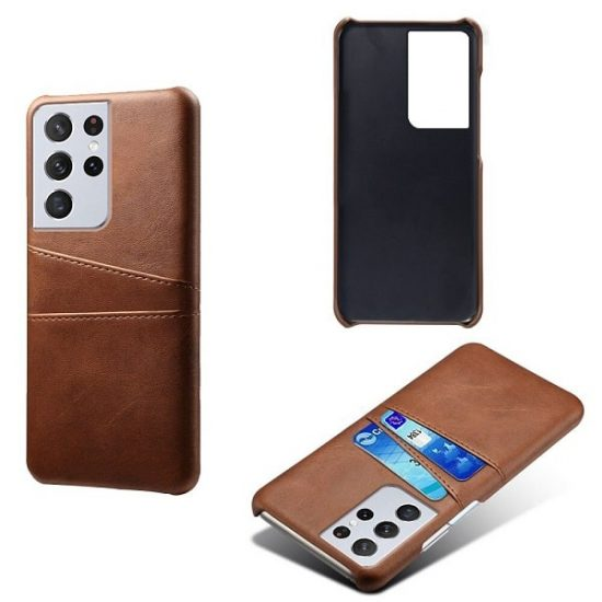 Leather Wallet Samsung Galaxy S21 Case