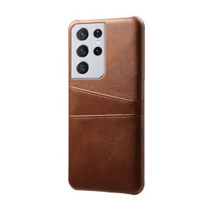 Leather Wallet Samsung Galaxy S21 Ultra Case
