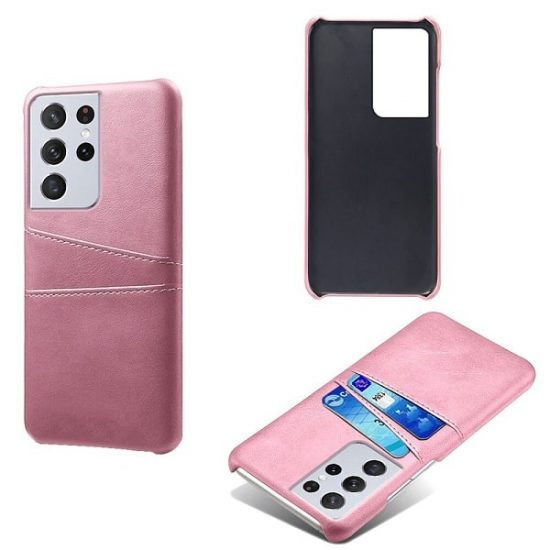 Leather Wallet Samsung Galaxy S21 Ultra Case With card holder
