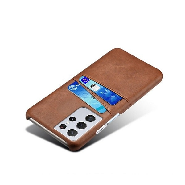 Leather Wallet Samsung Galaxy S21 Ultra Case Cover