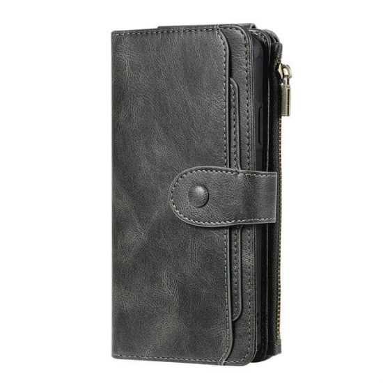 Magnetic Detachable Flip Wallet iPhone 12 Pro Max Case - WAWCASE