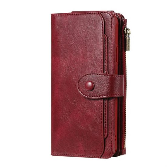 iPhone 12 Pro Max Magnetic Detachable Flip Wallet Case