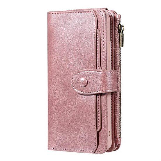 iPhone 12 Mini Magnetic Detachable Flip Wallet Case