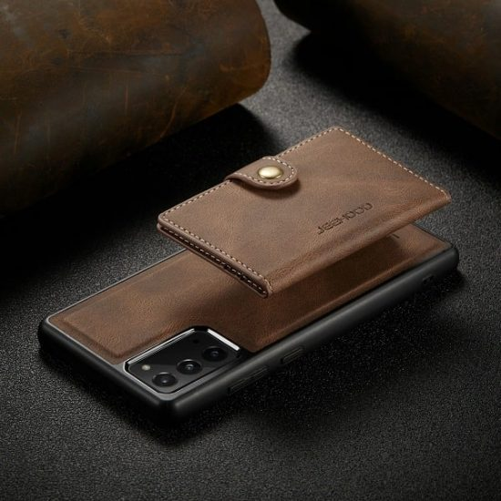 Magnetic detachable wallet phone case for Samsung S21 Ultra Case
