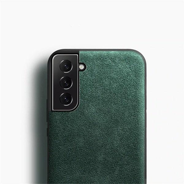 Samsung Galaxy Green Alcantara S21 Case