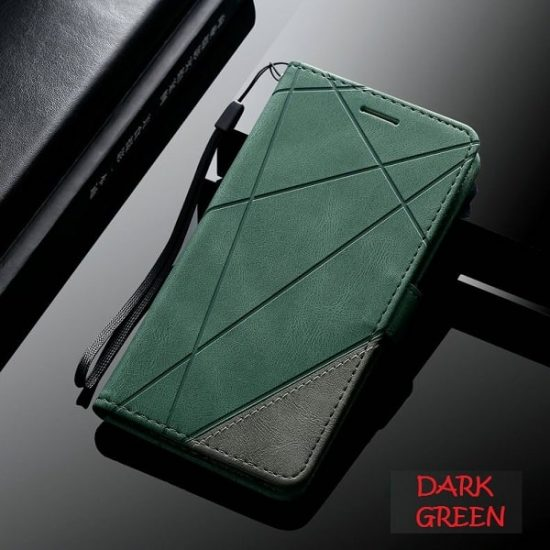 Samsung Galaxy S21 Plus Leather Flip Wallet Case