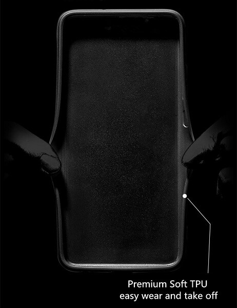 Samsung Galaxy S21 Plus alcantara case