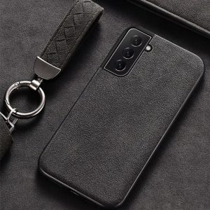 Samsung Galaxy S21 Plus simple Alcantara Case