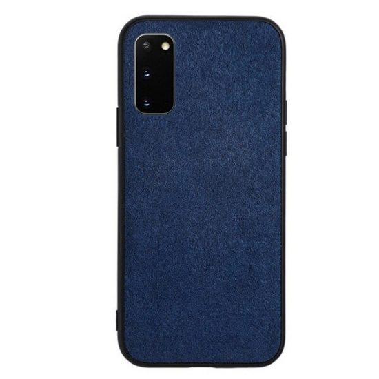 Samsung S21 Plus alcantara case