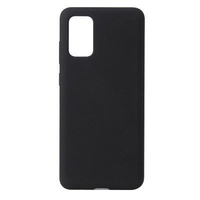 Black Silicone Candy Color Case