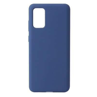 Blue Silicone Candy Color Case