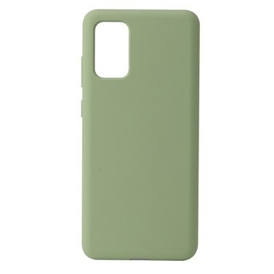 Green Silicone Candy Color Samsung S21 Case