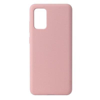 Pink Silicone Candy Color Samsung S21 Ultra Case