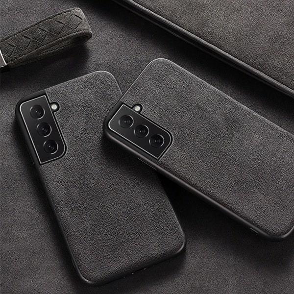 Simple Alcantara Samsung Galaxy S21 Plus Case