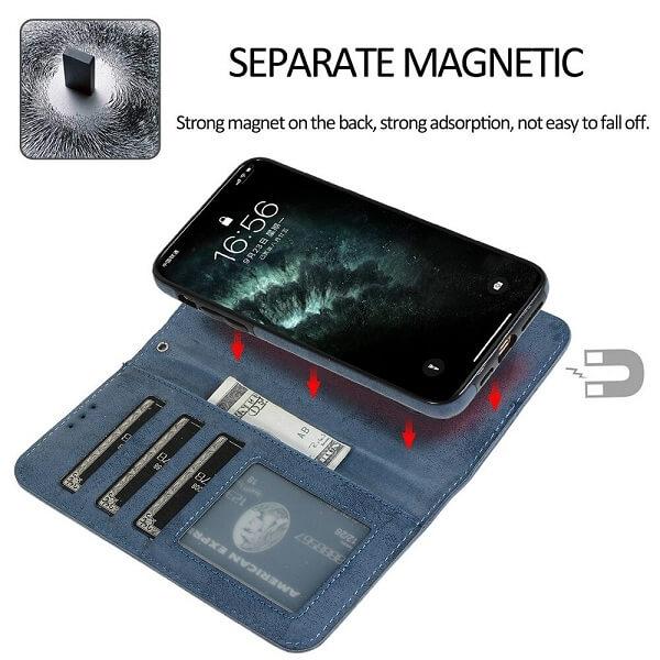 iPhone 12 Pro Max detachable magnetic wallet case