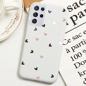 Samsung S21 Ultra Love Heart Case