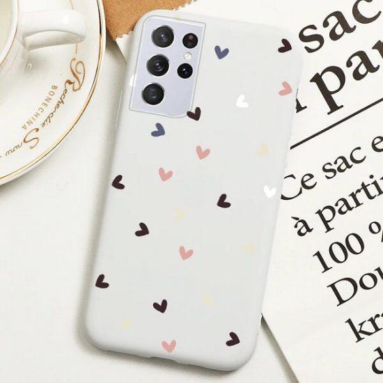 Samsung S21 Ultra Love Heart Case