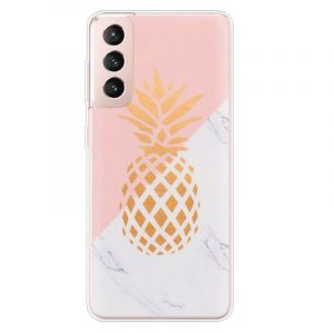 Gold Ananas Samsung Galaxy S21 Case