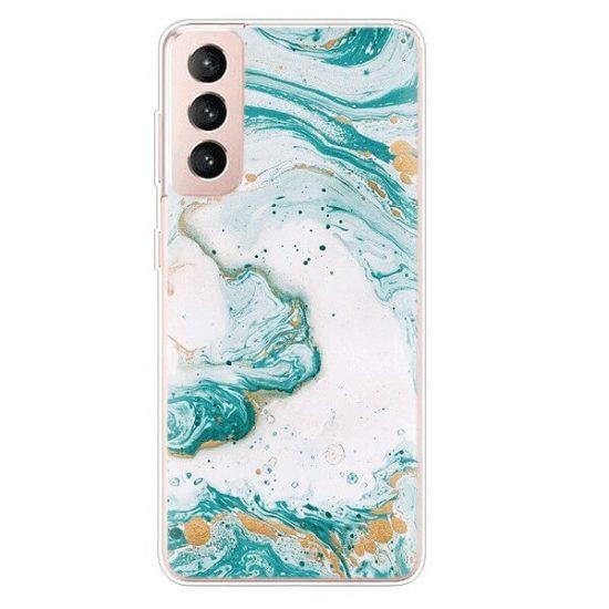 Green Pastel Marble Samsung Galaxy S21 case