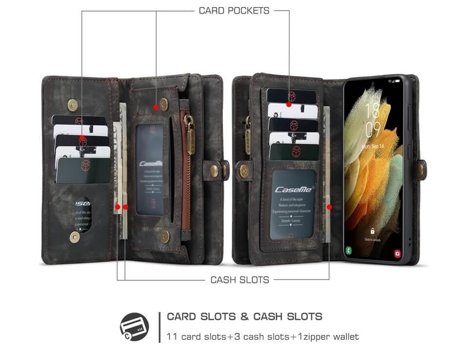 Magnetic Detachable Wallet Samsung Galaxy S21 Plus Case (1)