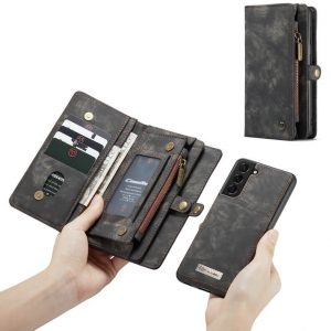 Magnetic Detachable Wallet Samsung Galaxy S21 Plus Case