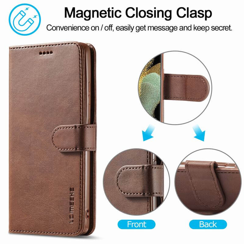 Samsung Galaxy S21 Ultra 5G Leather Cover