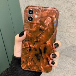 Amber Agate Phone Case for All iPhone Models
