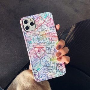 Passport Stamp iPhone Case Cover