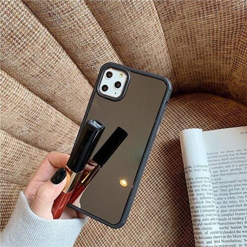 Shockproof Makeup Mirror Phone Case