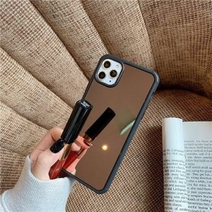 Shockproof Makeup Mirror iPhone Case