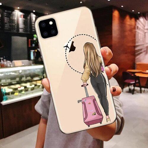 Travel Girl Best Friends Forever Phone Case (2)