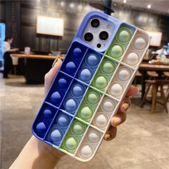 pop it fidget toy phone case