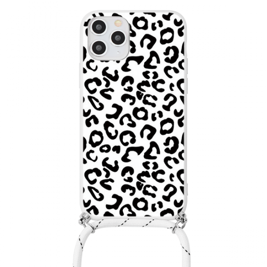 Black Leopard iPhone Case