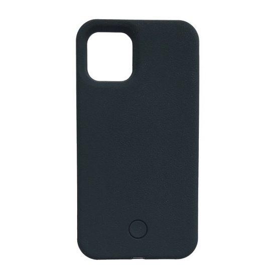 Black light up phone case