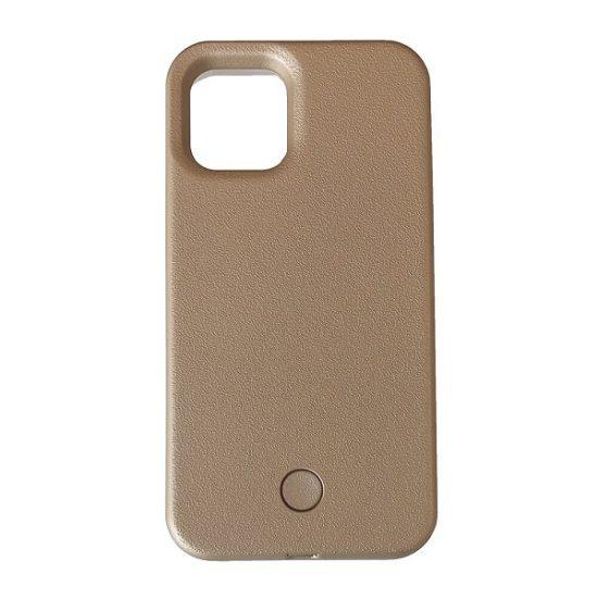 Gold light up phone case