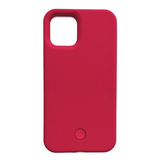 Red glow up phone case
