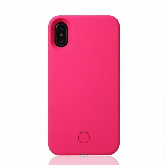 Selfie light phone case - Pink