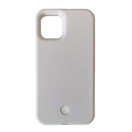 White glow up phone case