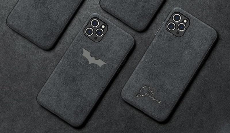 Alcantara case for iPhone 13 12 11 Pro Max