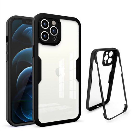 Black Ultra Thin Shockproof iPhone 13 Case