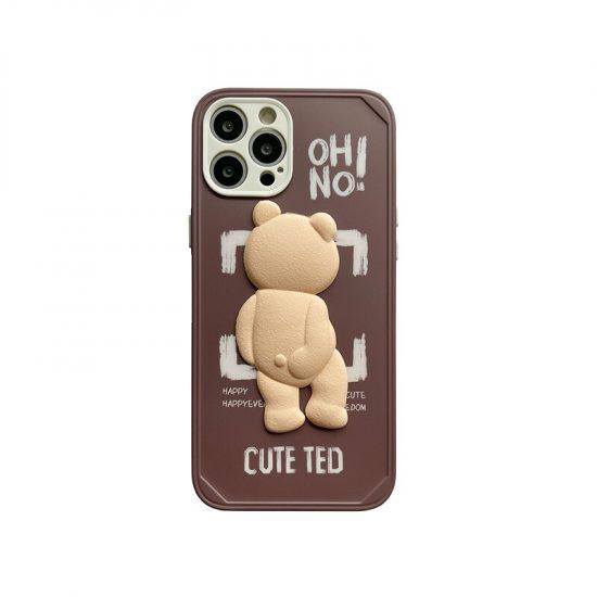Brown Teddy Bear Phone Case