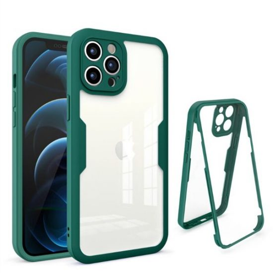 Dark Green Ultra Thin Shockproof iPhone 13 Series Case
