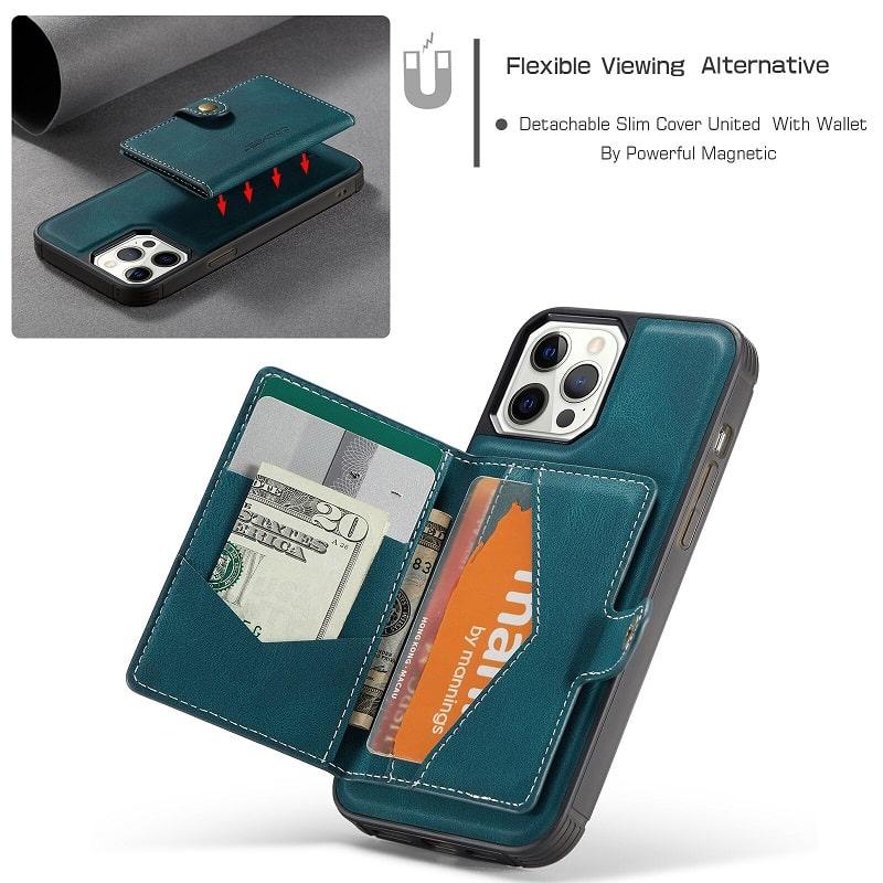 Detachable Wallet iPhone 11 12 13 Case