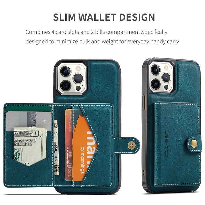 Detachable Wallet iPhone 13 Pro Case