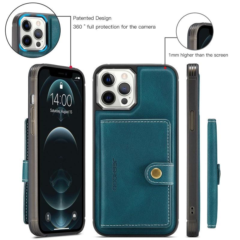 Detachable Wallet iPhone 13 Pro Max Case