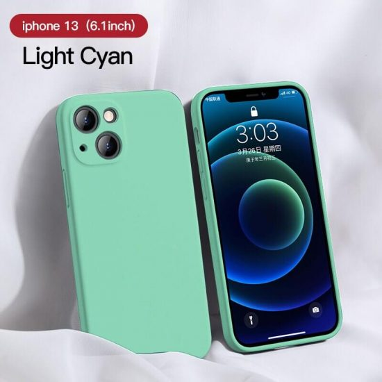 Light cyan Candy Color iPhone 13 Case