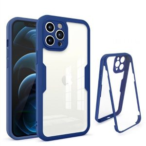 Navy Blue Ultra Thin Shockproof iPhone 13 Case