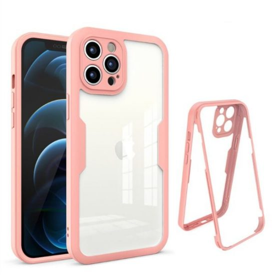 Pink Ultra Thin Shockproof iPhone 13 Pro Max Case